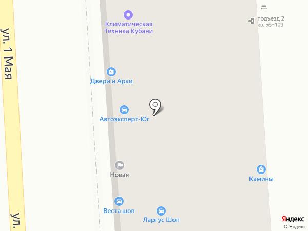 СеДа на карте Краснодара