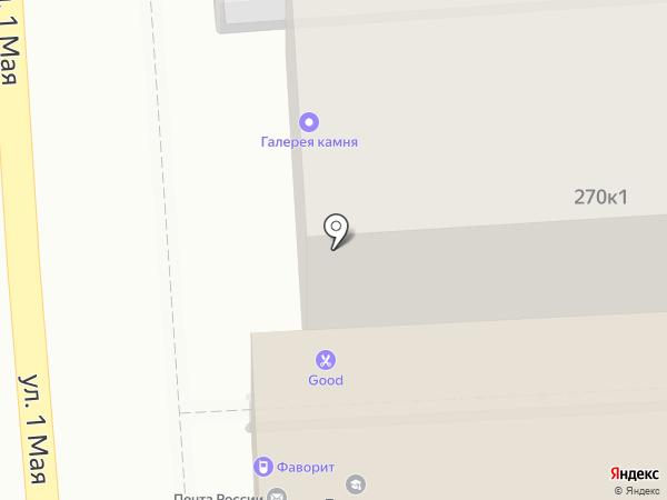 Gamelion на карте Краснодара