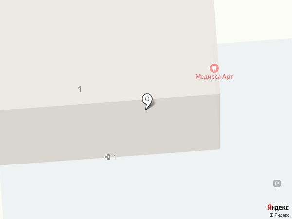 Медисса на карте Краснодара