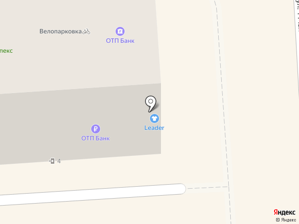 Leader на карте Краснодара