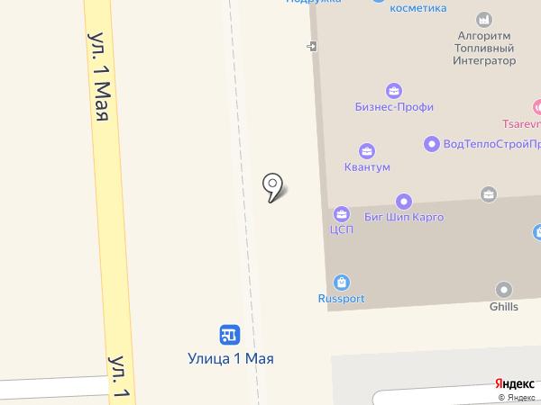 Леона на карте Краснодара