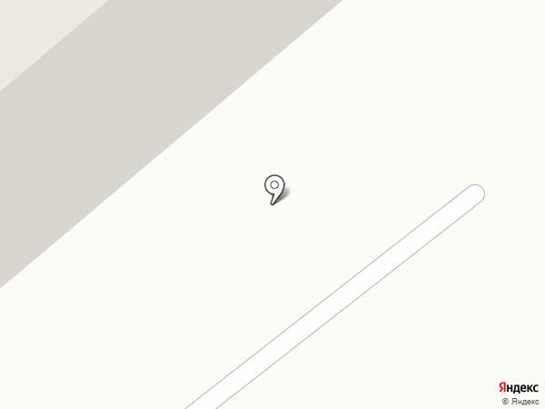Олень на карте Семилуков