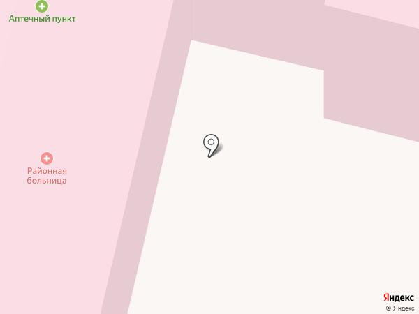 Семилукская центральная районная больница им. А.В. Гончарова на карте Семилуков