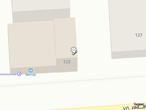 FULLRIDE на карте Краснодара