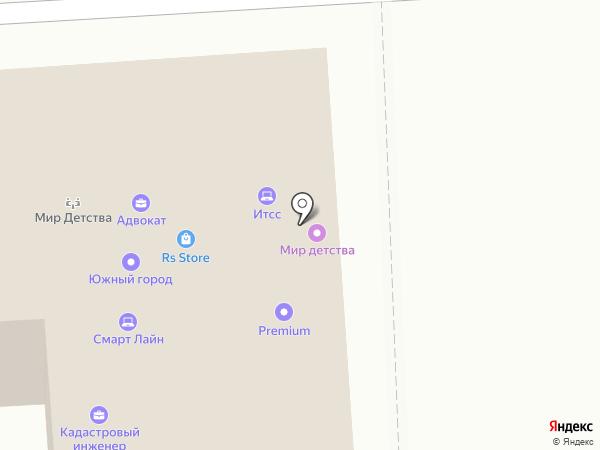 Мы на карте Краснодара
