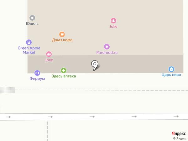 Магазин мебели на карте Краснодара