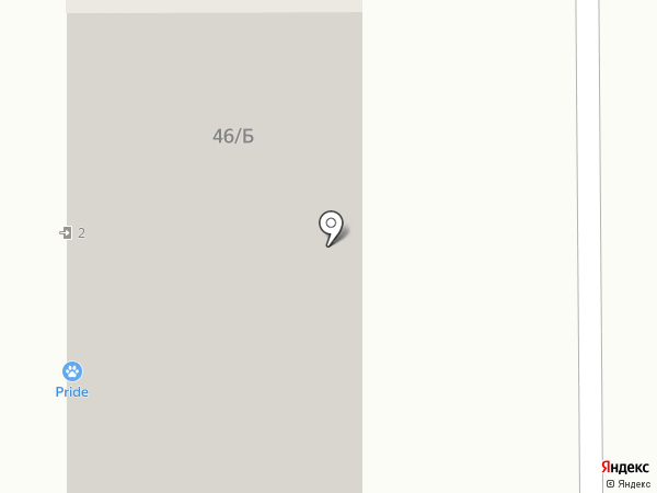 Счастливый крючок на карте Краснодара
