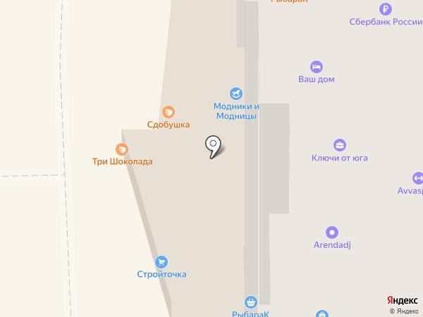 Идеал-Системс на карте Краснодара