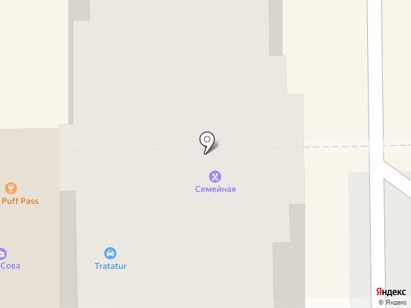 Семейная на карте Краснодара