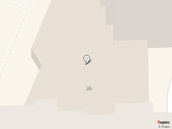 Физрук на карте Краснодара