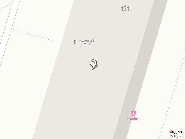 Графит на карте Краснодара