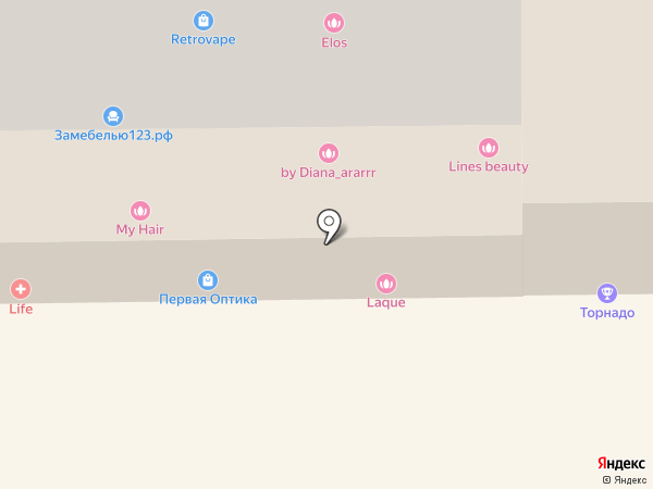Робокуб на карте Краснодара