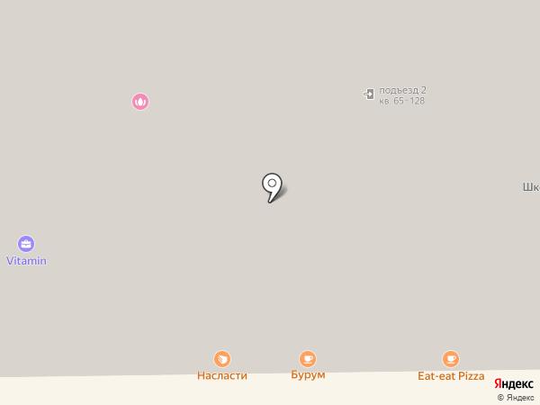 Квартирное бюро на карте Краснодара