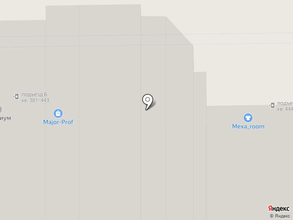 Ю-trand на карте Краснодара