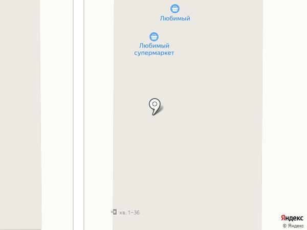 Гранат на карте Российского