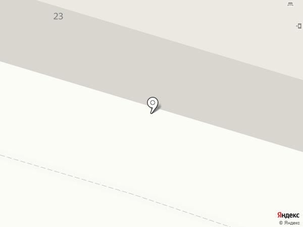 Ель23.рф на карте Краснодара