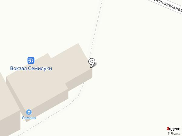 Магазин по продаже семян на карте Семилуков
