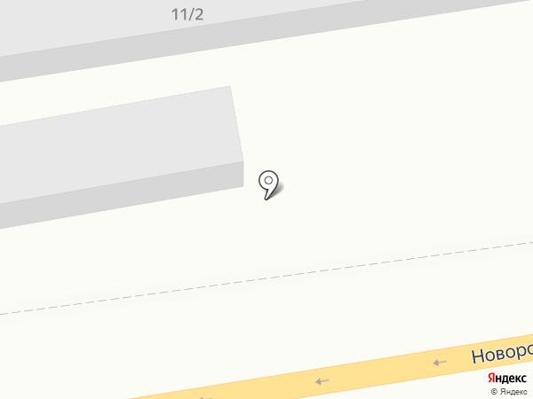 Скутер Юга на карте Краснодара