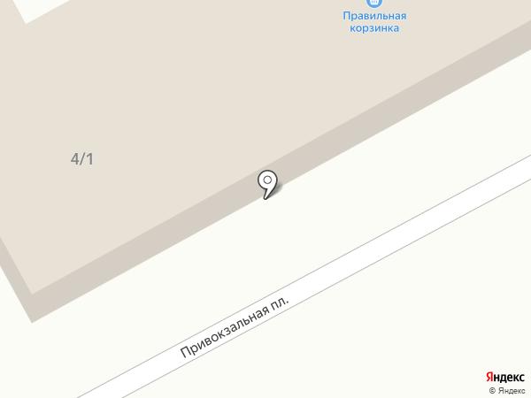 РС Электро на карте Семилуков