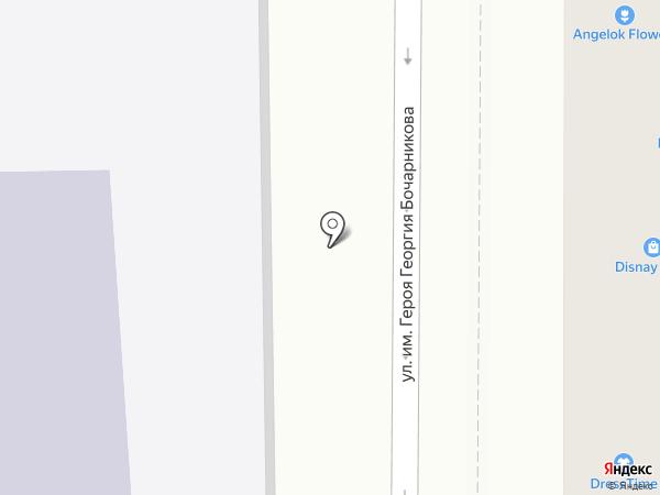 АВА на карте Краснодара