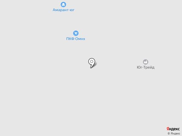 Втм-Белт на карте Краснодара