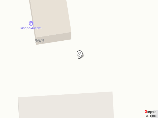 Кубаночка на карте Краснодара