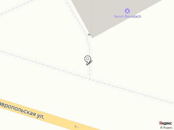 ОКОННЫЕ ТЕХНОЛОГИИ на карте Краснодара