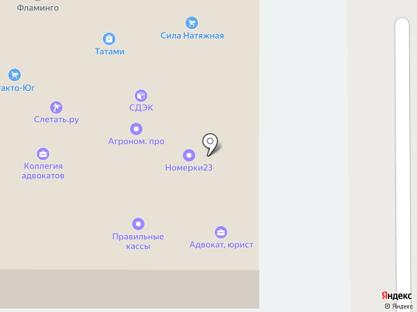КубаньСБ на карте Краснодара