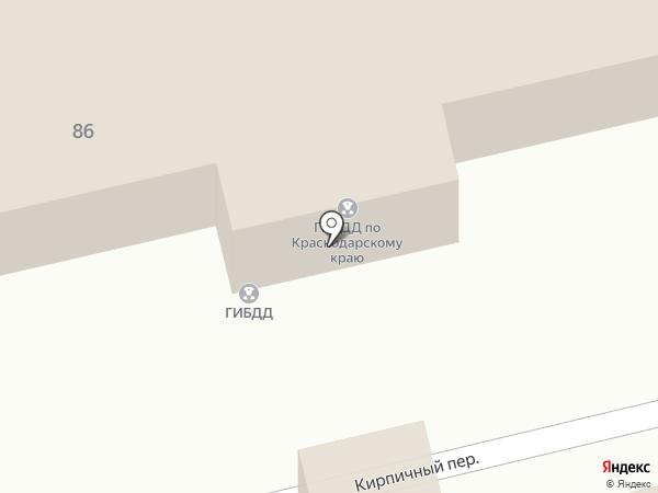 Полк ДПС ОГИБДД г. Краснодара на карте Краснодара