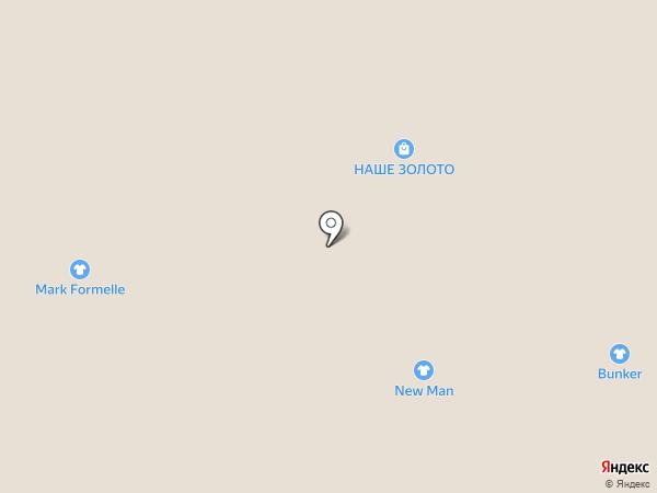 Нити-нити на карте Краснодара