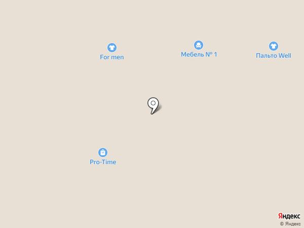 Deva на карте Краснодара