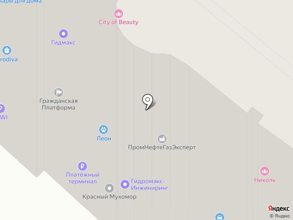 Адель на карте Краснодара