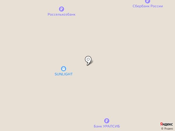 Дали на карте Краснодара
