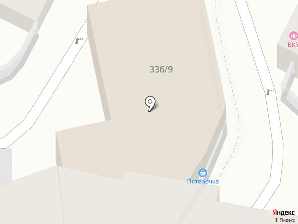 Огни Баку на карте Краснодара