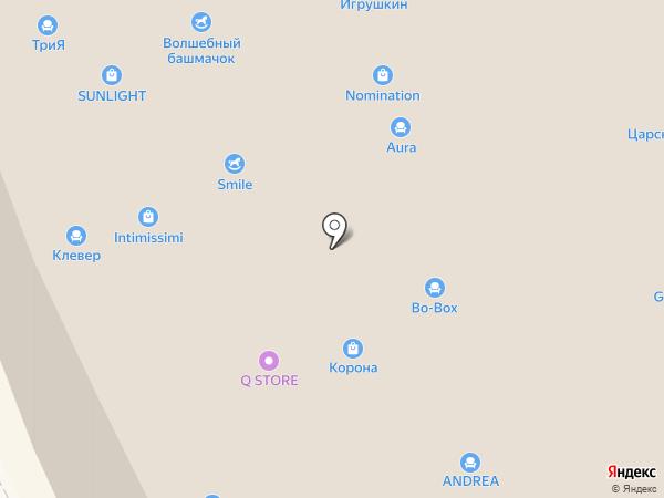 Волшебный Башмачок на карте Краснодара