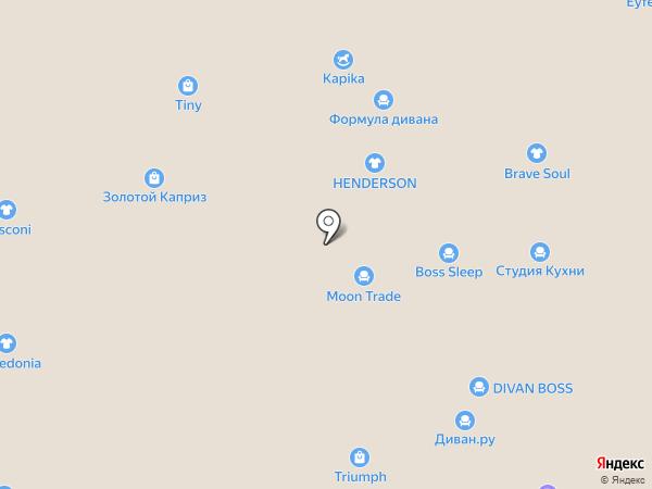 Анекс Тур на карте Краснодара