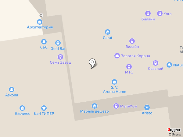 Lapsi на карте Краснодара