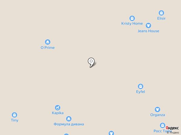 Остров комфорта на карте Краснодара