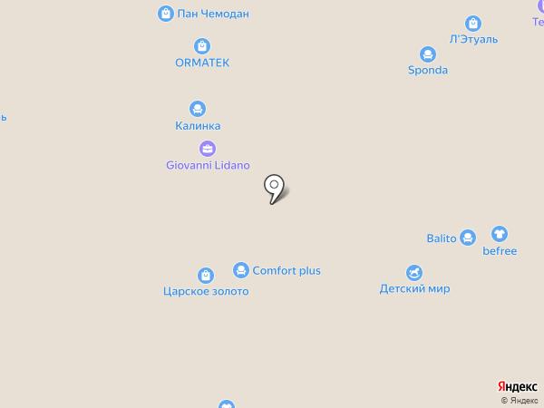 Zebra на карте Краснодара