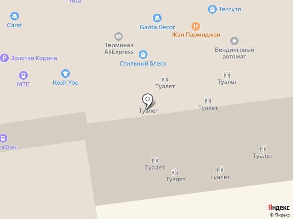 Медынь на карте Краснодара