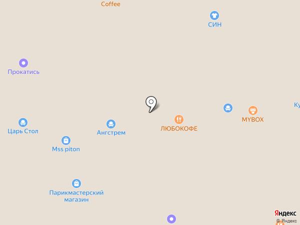 Банкомат, Банк Уралсиб, ПАО на карте Краснодара