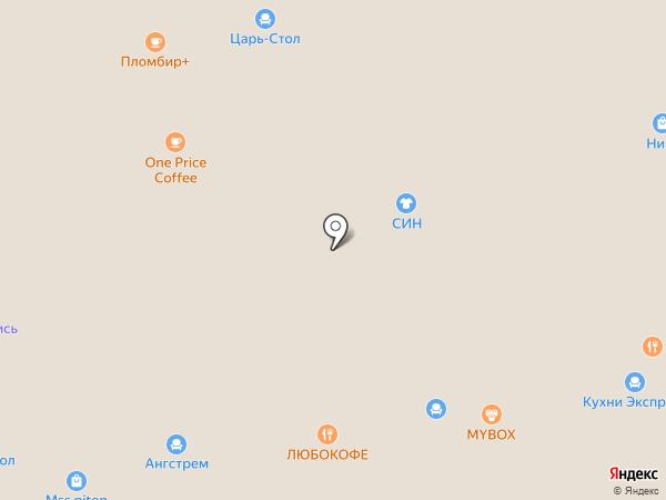 Постель на карте Краснодара