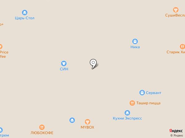 SPOGI на карте Краснодара