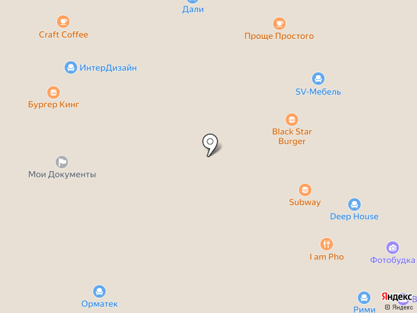 Лером на карте Краснодара