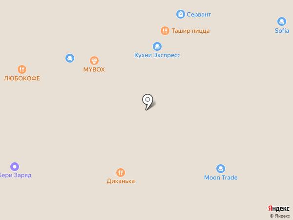 PINZAR.RU на карте Краснодара