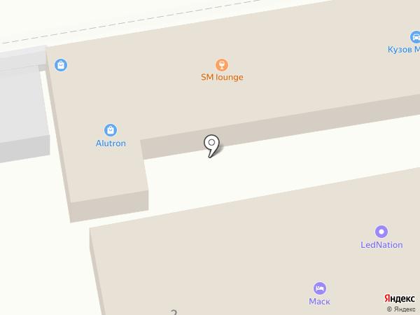 Сектор ВАЗа на карте Краснодара