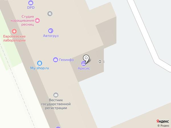 КУБИТС на карте Краснодара