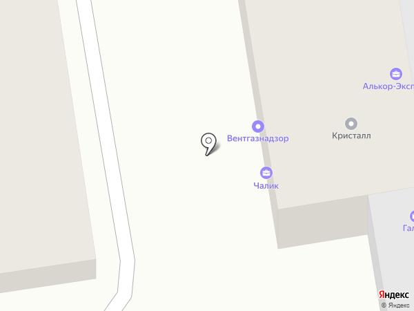 Алькор-Эксперт на карте Краснодара
