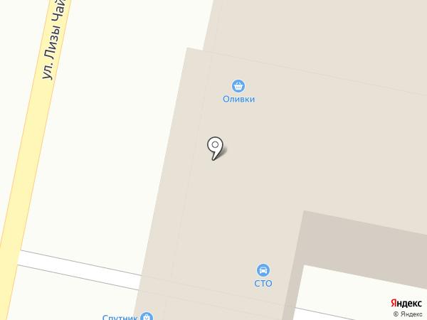 FRESKI23.RU на карте Краснодара