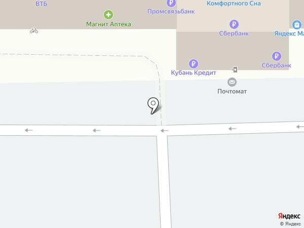 Салон аксессуаров к мобильным телефонам на карте Краснодара